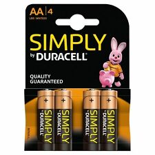 12 x Duracell Alkaline Simply AA Batteries Long Expiry Date 100% Genuine NEW