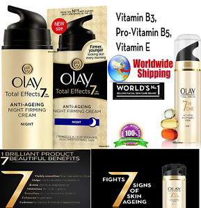 Olay Total Effects 7-In-1 Anti Ageing Night Firming Skin Cream,20g Free Shipping