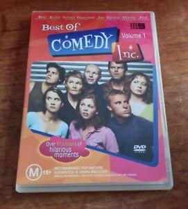 Best Of Comedy Inc. Vol 1 ~ Australia TV Comedy Sketch Early 00's