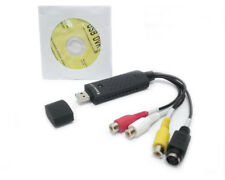 1CH S-Video Capture Card RCA to USB Audio/Video Storage Player For CCTV Camera
