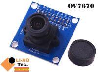 OV7670 Camera Module Supports VGA CIF Auto Exposure Control Display 640X480