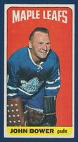 JOHNNY BOWER 64-65 TOPPS TALLBOYS 1964-65 NO 40 EXMINT  10051