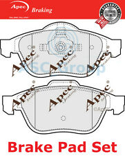 Apec Front Brake Pads Set OE Quality Replacement PAD1186