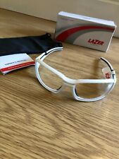 Lazer VISION X1 Glasses Eye Wear Eye Protection Gloss White Clear Lens