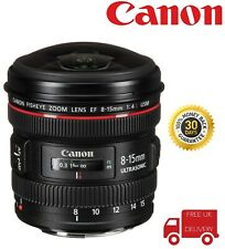 Canon EF 8-15mm F4L Fisheye USM Fisheye Ultra/Wide Zoom Lens (UK Stock)