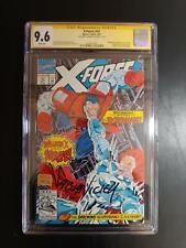 X-FORCE #10 CGC 9.6 SS FABIAN NICIEZA / 1ST APP EXTERNALS Early DEADPOOL CAMEO!