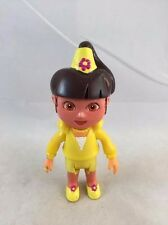 "DORA THE EXPLORER Magic CASTLE 4.75"" HTF MAGIC PRINCESS DORA Yellow FIGURE"
