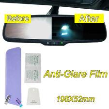 Car Anti Fog Anti-glare Rainproof Rearview Mirror Trim Film Cover Universal 1pcs