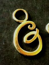 """14K Yellow GOLD """"G"""" INITIAL CHARM"""
