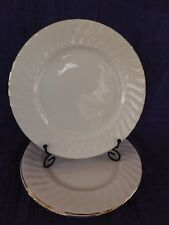 Churchill Chelsea Gold SALAD PLATE 1 of 2 available,  Swirl White Gold Trim