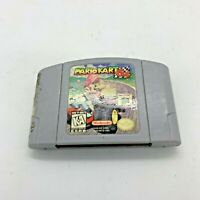 AUTHENTIC! Mario Kart N64 Nintendo 64 Game - Tested - Working