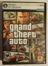 Grand Theft Auto IV (PC DVD, Games for Windows) **COMPLETE**