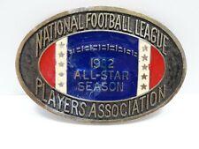 NFL Players Association Belt Buckle 1982 All Star Season (1)