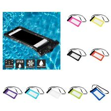 Waterproof Phone Case Bag Pouch Swimming Diving Canoeing Water Sports Protective