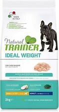 Natural Trainer Ideal Weight Adult Mini Con Carni Bianche Vari Formati