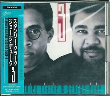Stanley Clarke and George Duke 3 Japan CD w/obi ESCA-5138