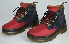 Dr. Martens Rakim Ripstop Hiker 90s Boots Unisex M 5, W 6 Red Black Waterproof