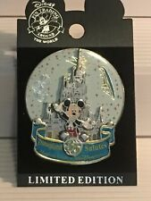Disneyland~Salutes 35 Magical Years Of Walt Disney World~Spinner Pin~Ltd Edition