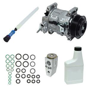 New A/C Compressor and Component Kit for Silverado 2500 HD Sierra 2500 HD Silver