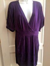 Velvet Torch Nordstrom Purple Dress - Gorgeous S/S Size L EUC Sz 12 14