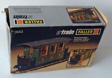 Faller E-Train 3643 - Personenwagen 2. Klasse 7+ - Gebraucht