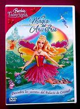 BARBIE FAIRYTOPIA LA MAGIA DEL ARCO IRIS DVD ANIMACION