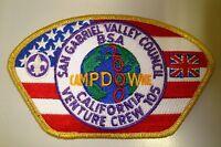 MERGED SAN GABRIEL VALLEY COUNCIL OA 488 PATCH GMY VENTURE 2000 CAMPDOWNE CSP