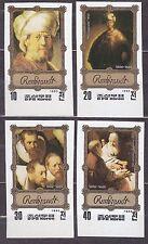 KOREA Pn. 1983 MNH** SC#2264/67 set,  Rembrandt Paintings. Imp.