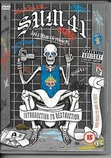 DVD ALL ZONES--CONCERT--SUM 41--INTRODUCTION TO DESTRUCTION--2002