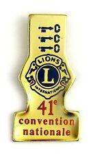 PINS CLUB PHILANTHROPIQUE LIONS CLUB - 41 EME CONVENTION NATIONALE