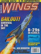 Wings Magazine (April 2003) (Ejection Seats, B-29 in Korea, Col. Broughton)