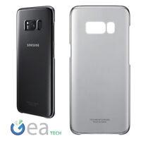 Custodia CLEAR COVER Originale Samsung Per Galaxy S8 G950F Trasparente Slim Nera