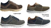 MENS CASUAL LACE UP GYM MEMORY FOAM SPORTS RUNNING COMFORT TRAINERS SHOES SIZES