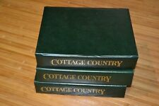 """Lot David Winter Cottages Magazine """"Country Cottage"""" Display Case 1987-1993"""