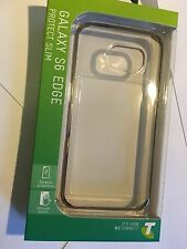 Samsung Galaxy S6 Edge TPU Protect Slim Cover Clear SCC6E0074GDT Brand New pack