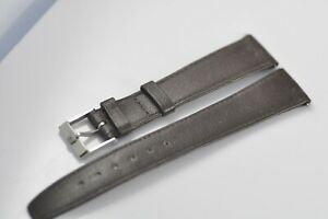 18mm Omega Vintage Band Strap with Stainless Steel Buckle NOS