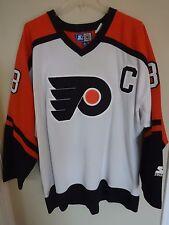 Vintage Starter Eric Lindros Philadelphia Flyers Premium Hockey Jersey Men XL