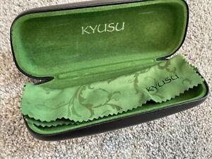 Kyusu Black Glasses Case