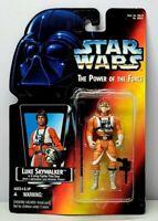 "STAR WARS The Power Of The Force LUKE SKYWALKER X-WING 3.75"" Action Figure 1995"