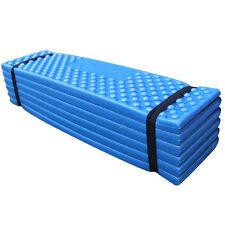 Folding Outdoor Picnic Camping Hiking Sleeping Mat Waterproof Pad Cushion Blue