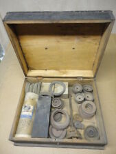 WATER WELL CISTERN HAND PITCHER PUMP REPLACEMENT VALVE LEATHERS OUTFIT w/ BOX