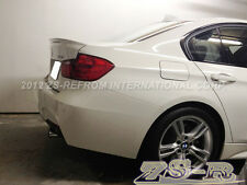 BMW F30 318i 320i 328i 335i 4Dr Painted 300 White Performance Trunk Spoiler Wing