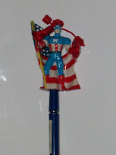 CAPTAIN AMERICA PEN with PVC FIGURE TOPPER MARVEL(AVENGERS ALL-NEW NOW MOVIE1234