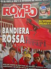 ROMBO 9 1992 Inserto Speciale F1 Uomini Macchine e piste Piloti Formula 1