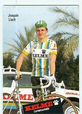 Joaquin LLACH  .cyclisme. Kelme 1988