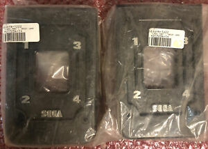 NOS Sega Daytona USA Arcade Shifter Cover Pair (2)