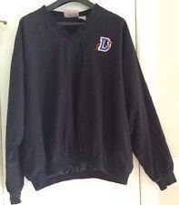 Durham Bulls MiLB v neck pullover windbreaker jacket - Men's size XL - Black