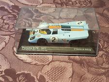 24 Heures du Mans Voiture 1/43 N°2 Porsche 917 K de 1971 Rogriguez Oliver