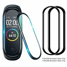 3D Curved Full Cover Tempered Glass Screen Protector Film for Xiaomi Mi Band 4/5