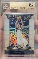 2018-19 Panini Select Concourse Silver Prizm Luka Doncic #25 Rookie RC / BGS 9.5